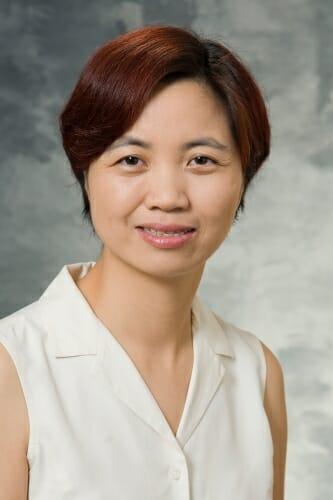 Studio portrait of Ying Ge