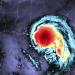 A satellite image of Hurricane Sally in September.