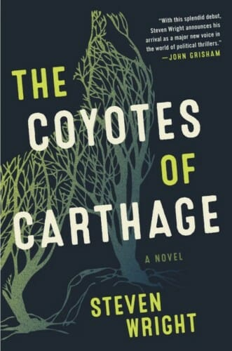 """Cover of """"The Coyotes of Carthage"""""""