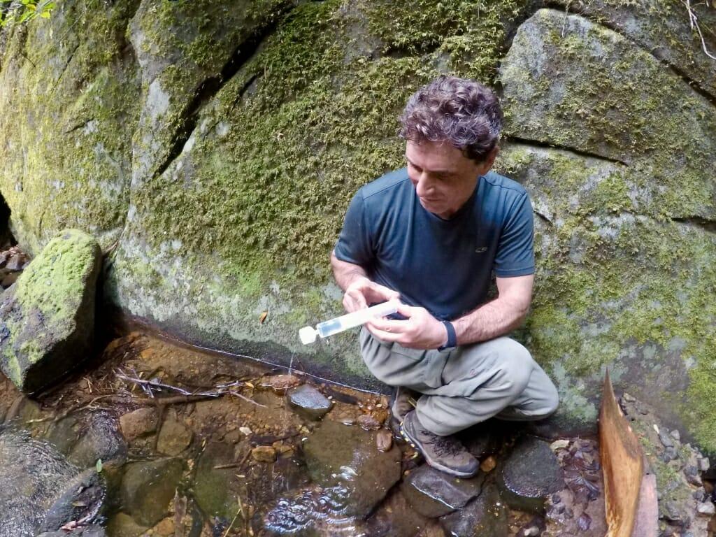 Tony sampling water1 1024x768.