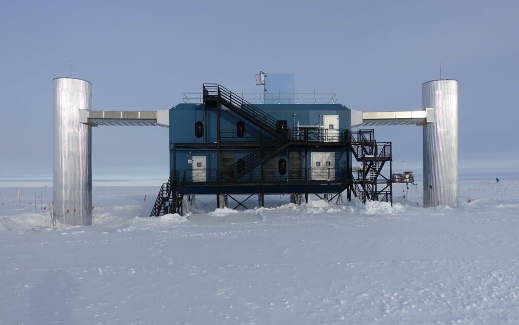 Exterior of IceCube Laboratory