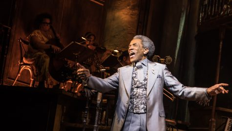 Andre De Shields performing on stage