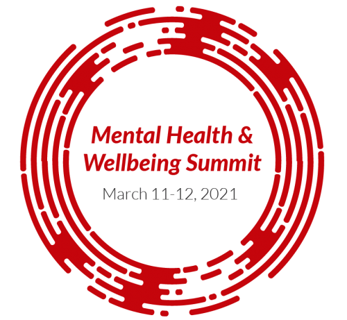 "The words ""Mental Health & Wellbeing Summit"" inside a circular maze"