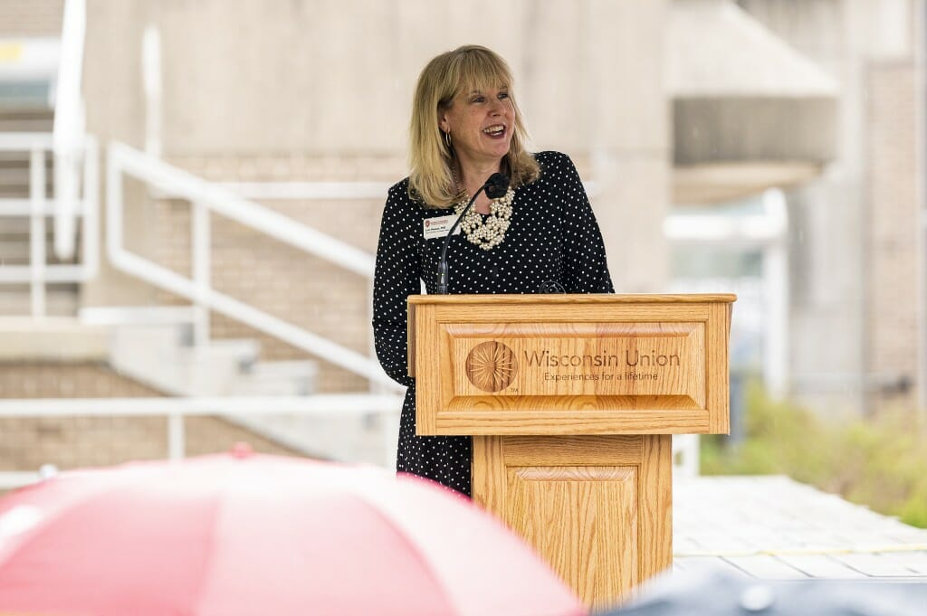 Vice Chancellor for Student Affairs Lori Reesor says the Divine Nine space will be a reflection and celebration of their legacy.
