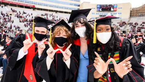 Four graduates flash the