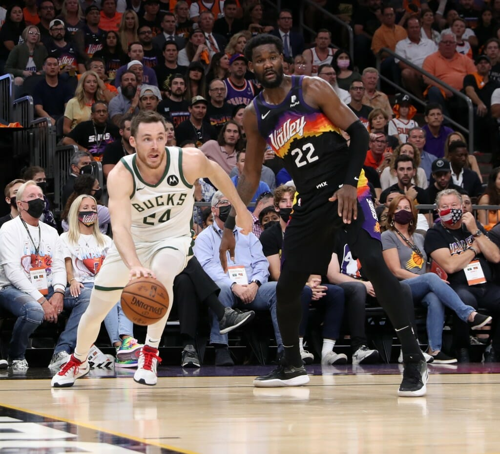 Connaughton dribbling past a defender