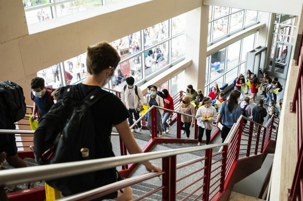The Student Organization Fair is an opportunity for students to learn about special-interest groups, activities and services offered by more than 400 registered student organizations on campus.