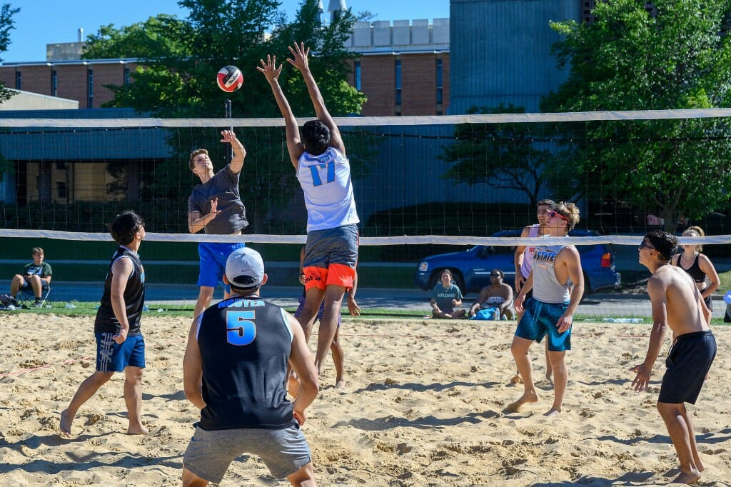 Nothing like some volleyball to get the most out of the waning days of summer. This tournament was part of a Labor Day Bash.