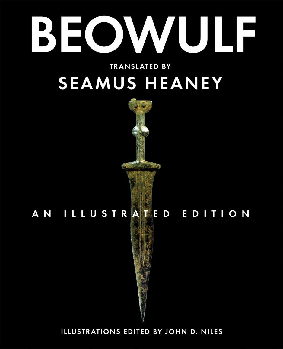 Book Cover Illustration Quotes : Caption cover beowulf an illustrated edition courtesy john