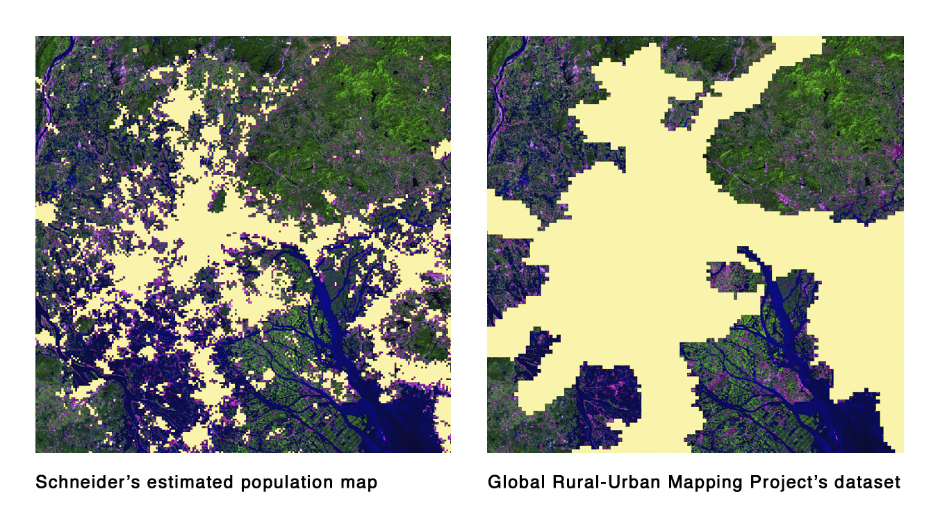 Caption: A new study of global urbanization, by Annemarie Schneider