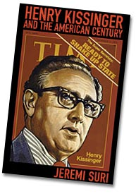 Cover of Suri's book on Kissinger