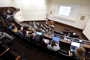 Photo: Biochemistry classroom
