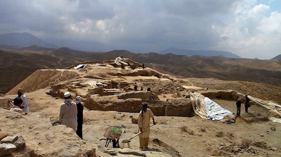 Photo: Mes Aynak archaeological site