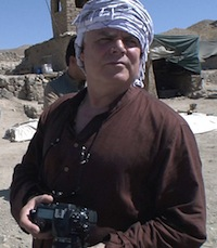 Photo: Mark Kenoyer at Mes Aynak archaeological site