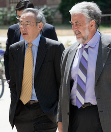 Photo: Steven Chu and Tim Donohue