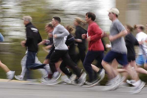 Photo: 2006 Crazylegs run