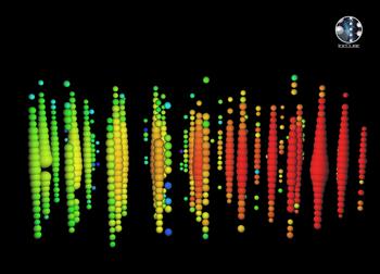 Illustration: Representation of neutrino event