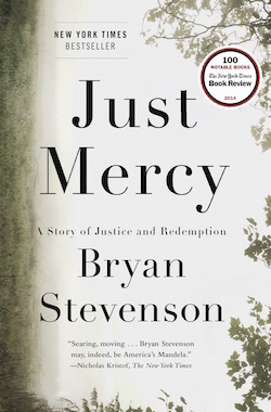 Photo: Cover of book 'Just Mercy'