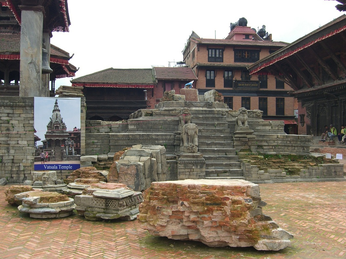 Photo: Ruins of Vatsala Temple