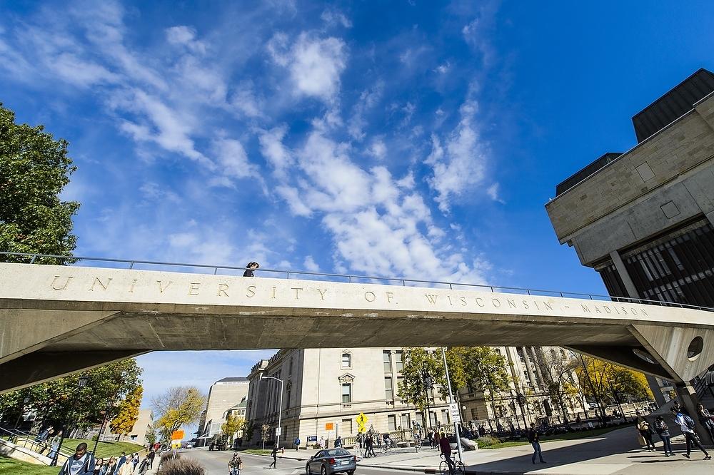 Photo: Park Street pedestrian overpass