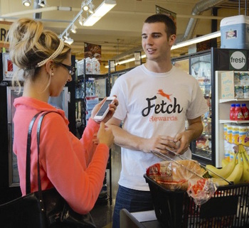 Photo: Customer talking to Wes Schroll