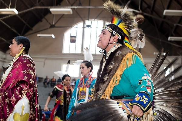 Photo: Native American powwow ceremony