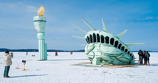 History Of Lady Liberty On Lake Mendota