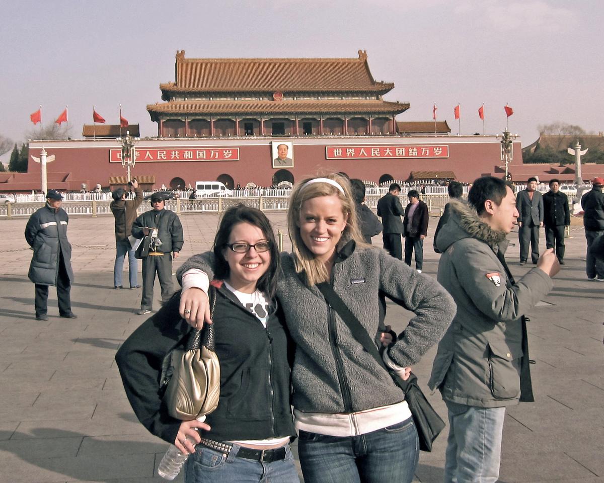 Photos: Students in Tiananmen