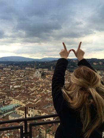 Photo: Student in Sesto Fiorentino, Italy