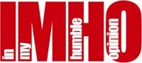 IMHO logo
