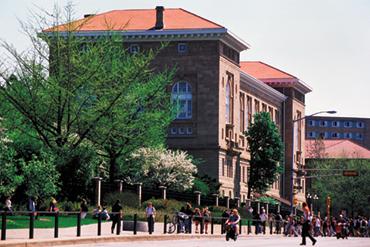 [photo] Lathrop Hall.