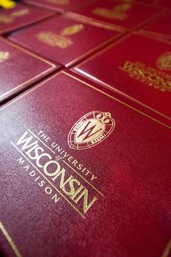 Photo: Diploma covers