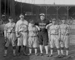 Photo: Baseball players, 1927