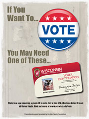 Graphic: Voter poster