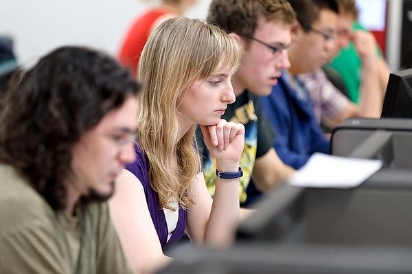Student Jessica MacAllister