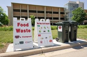 Photo: Compost drop-off site