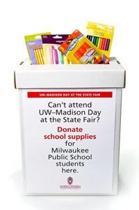 Photo: State Fair donation box
