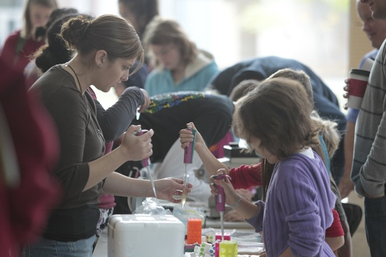 Photo: Children at science fest