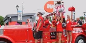 Photo: Spirit Squad at the fair