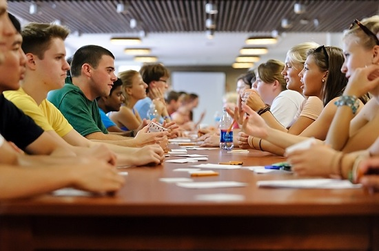 Photo: Transfer student retreat