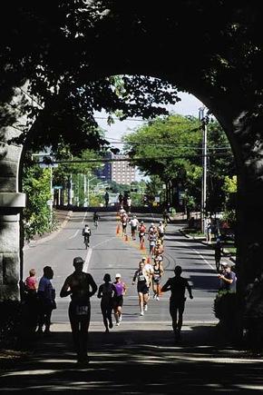 Photo: Ironman runners