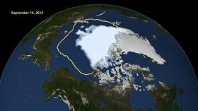 Photo: Arctic ice cap