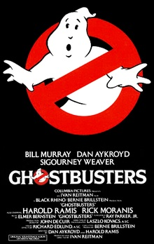 Photo: Ghostbusters poster
