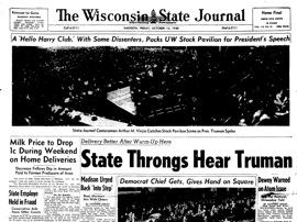 Photo: Truman headline