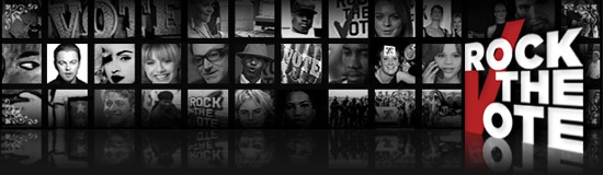 Image: Rock the Vote