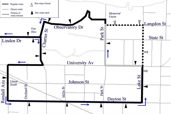 Image: Route 80 map