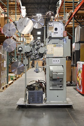 Photo: film processor at SWAP warehouse