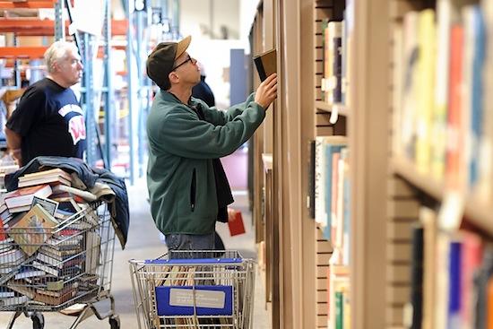 Photo: Book shopping at SWAP