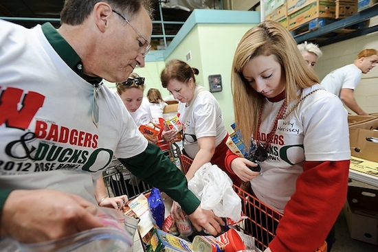 Photo: 2011 Rose Bowl service project