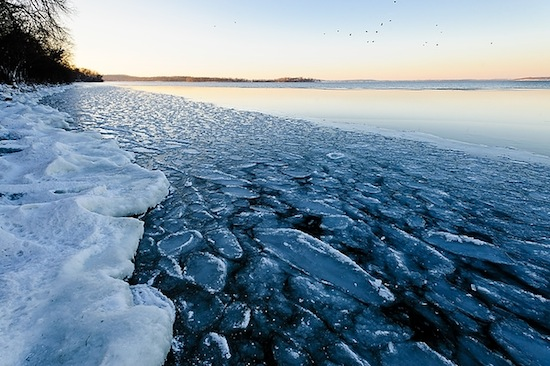 Keeping Time In Snow Along Lake Monona >> Lake Mendota Still Officially Open Water